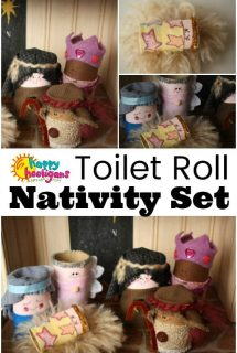 Toilet Roll Nativity Set
