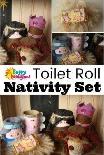 Toilet Roll Nativity Set