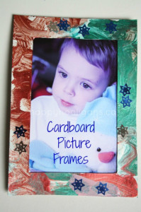 cardboard picture frames cover pic