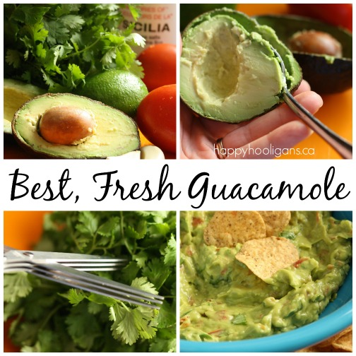 Best fresh guacamole recipe - Happy Hooligans