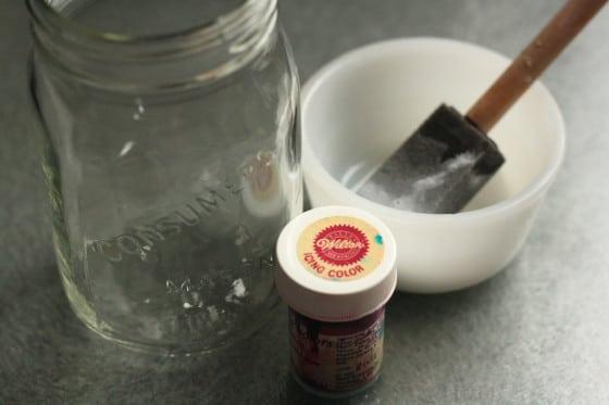 painted mason jar supplies