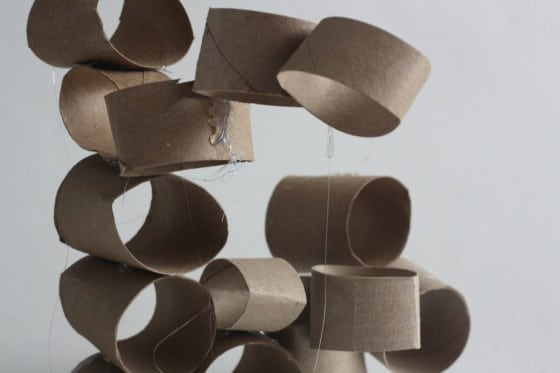 toilet roll structures -  a glue gun project for kidsappy hooligans