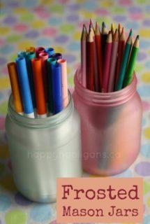 coloured mason jars - happy hooligans