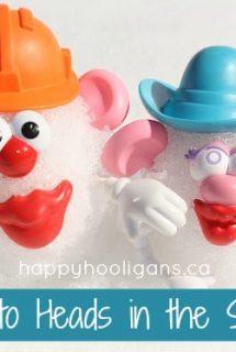 Potato Head Snowmen