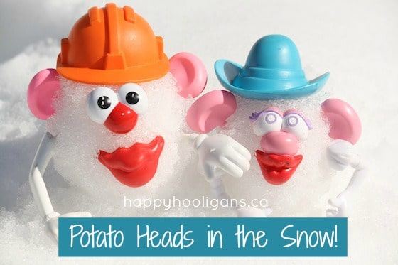 Potato Head Snowmen