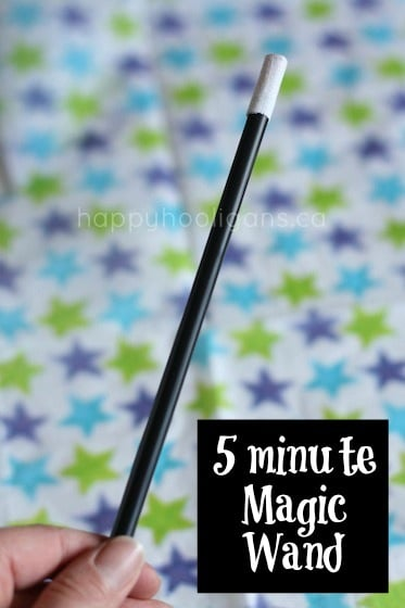 5 minute magic wand cover photo
