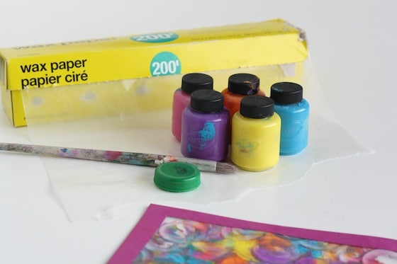 simple supplies for stained glass painting