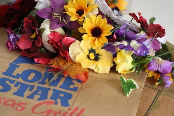 supplies for paper bag tiara