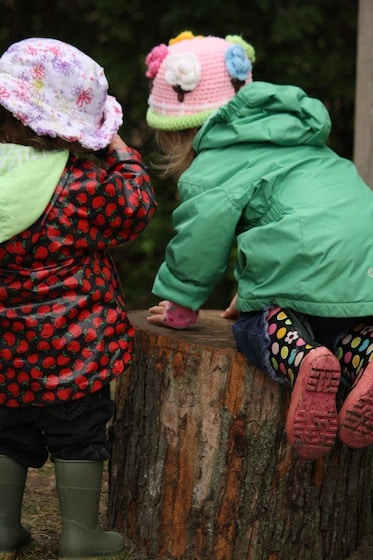 balance and co-ordination with play logs