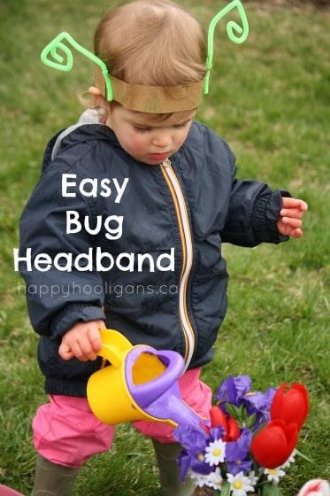 simple bug headband cover photo