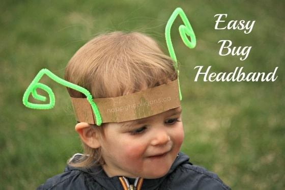easy bug headband (happy hooligans)