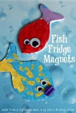 Fish Fridge Magnets for Kids to Make