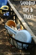Sandbox Ideas – Toy Suggestions, Play Ideas and Storage Solutions