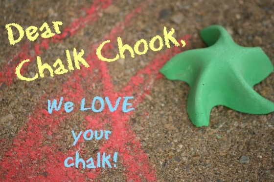 Chalk Chook chalk