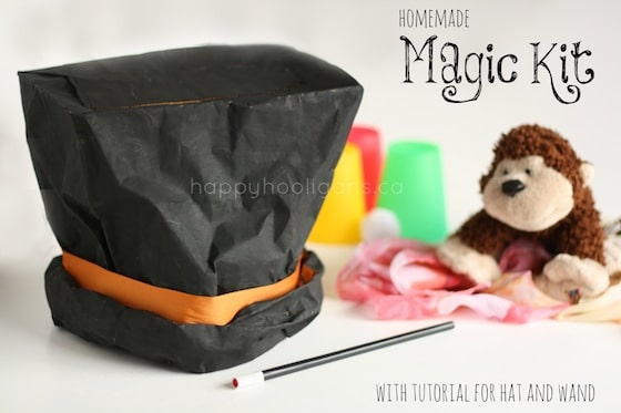 homemade magic kit - happy hooligans