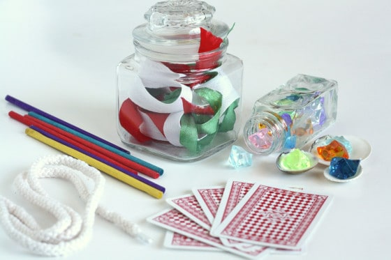 accessories for homemade magic kit