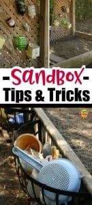 Sandbox tips and tricks