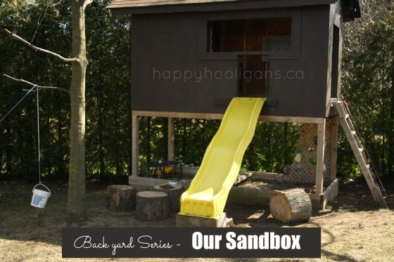 back yard series - our sandbox