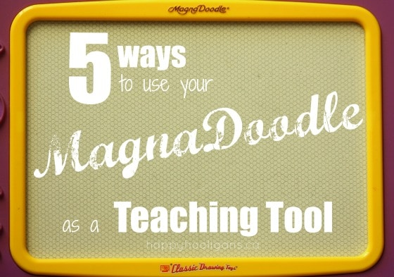 magna doodle learning activities