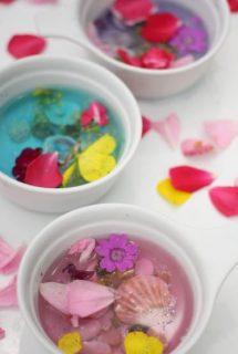 Fairy Soup: Sensory Fun in the Backyard!