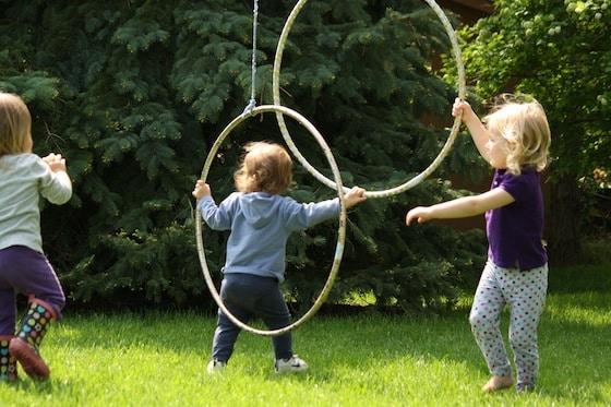 rope and hula hoop activity happy hooligans loose. Black Bedroom Furniture Sets. Home Design Ideas