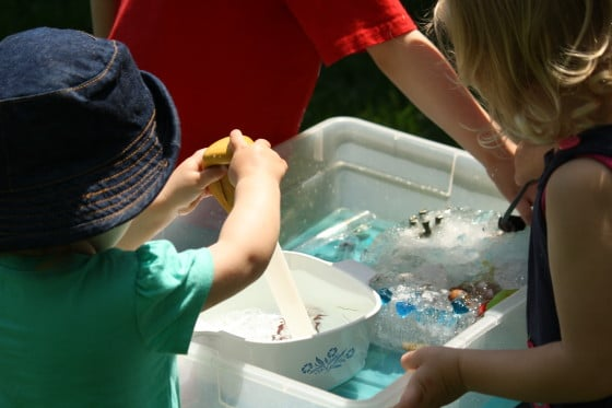 dino dig: melting ice with salt water