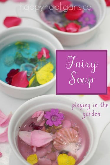 fairy soup sensory activity for toddlers and preschoolers