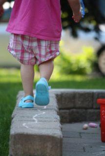 10 Backyard Balancing Activities
