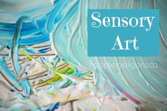 sensory art cover photo