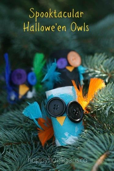 spooktacular hallowe'en owls