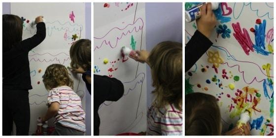 preschooler birthday party activity happy hooligans