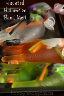 Haunted Halloween Hand Melt – A Salt and Ice Experiment for Kids
