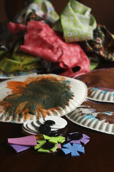 supplies for making paper plate owls