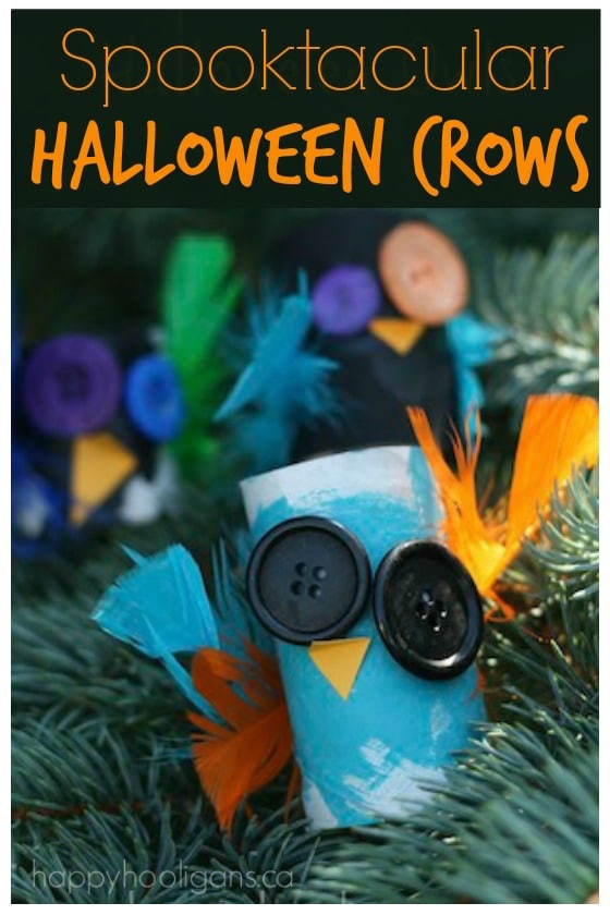 toilet roll crows