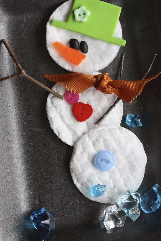 Build a snowman activity for preschool