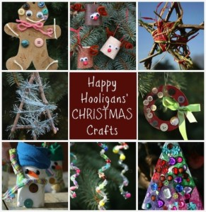 Happy Hooligans Christmas Crafts on Pinterest