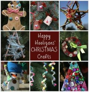 Happy Hooligans Christmas Crafts on Pinterest