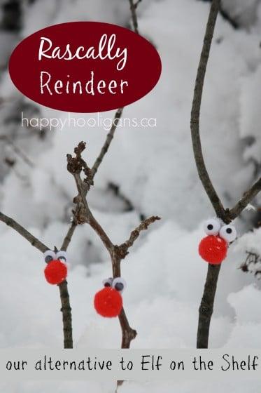 Rascally Reindeer Decorations – An Alternative to Elf on the Shelf