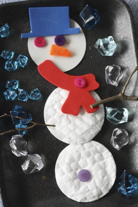 Snowman Craft for Preschoolers