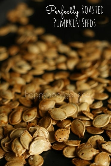 Perfectly Roasted Pumpkin Seeds with Olive Oil and Sea Salt