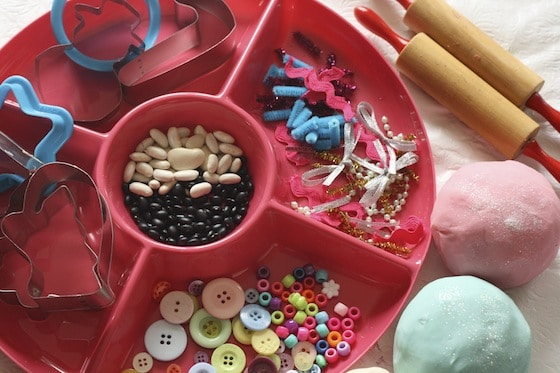 Christmas Cookie Play Dough Activity For Toddlers And