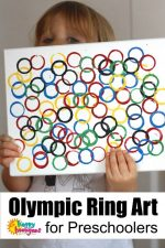 Olympic Rings Craft for Kids – An Easy Olympic Art Activity for Preschoolers