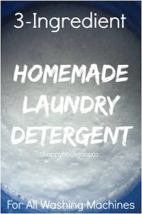 Homemade Laundry Detergent with Borax, Washing Soda and Ivory Soap copy