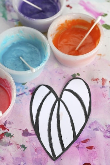 how to make black puffy paint