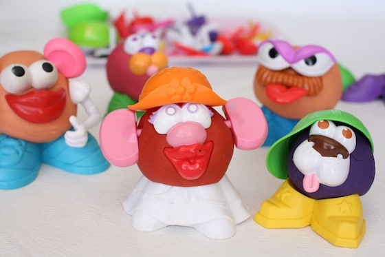 Creative play dough creations by Happy Hooligans