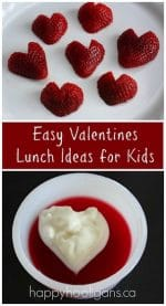 Valentines Lunch Ideas for Kids