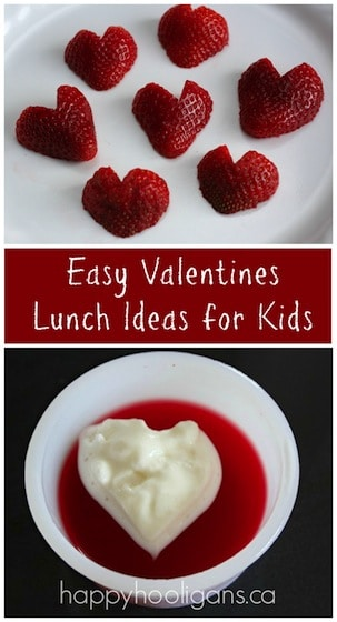 Easy Valentines lunch ideas for kids - Happy Hooligans