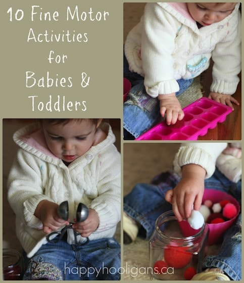 10 Fun Fine Motor Activities For Babies And Toddlers