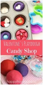 "Valentines Play Dough Activity – ""The Candy Shop"""