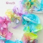 Coffe Filter Wreaths for Kids to Make